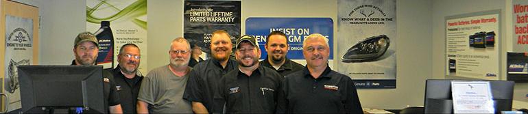 Bellamy Strickland Parts Department Team