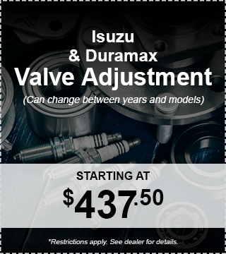 Isuzu and Duramax Valve Adjustment