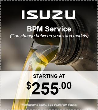 Isuzu BPM Service