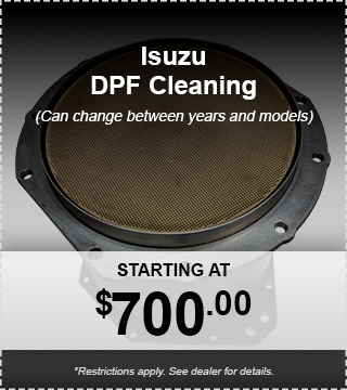 Isuzu DPF Cleaning